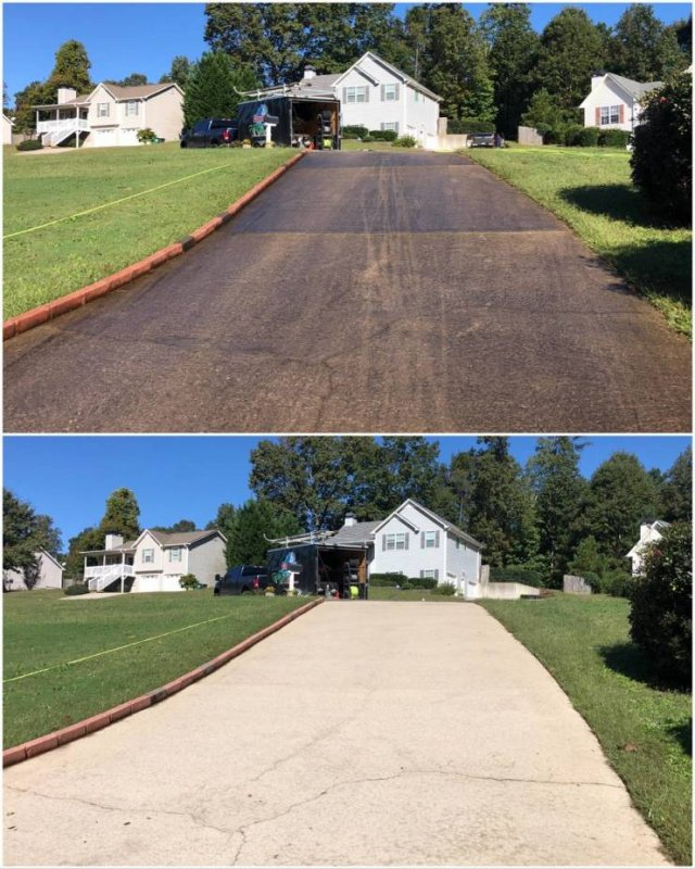 Power Washing: Before And After (32 pics)