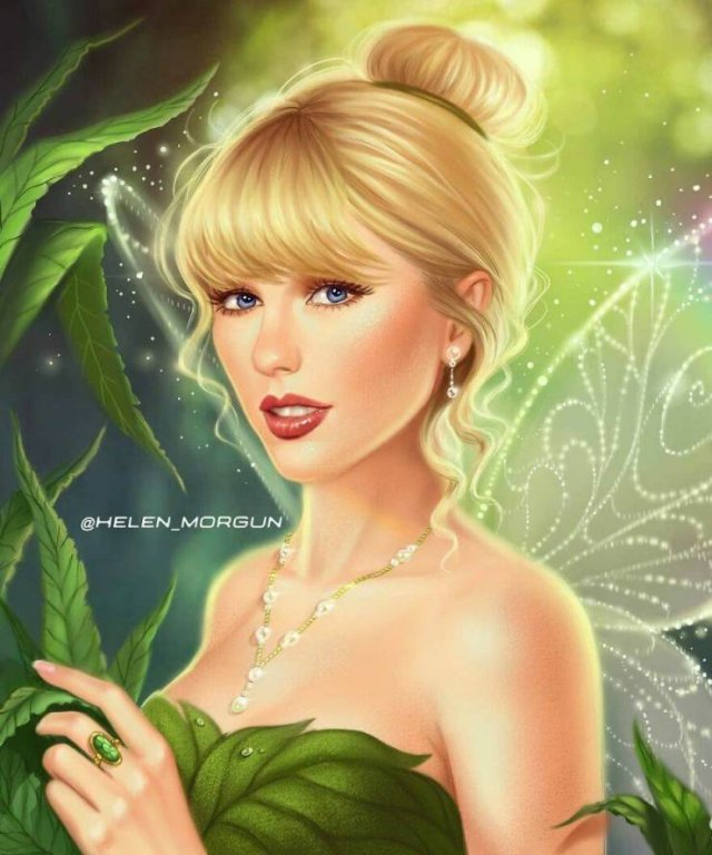 Celebrities Were Reimagined As Famous Cartoon Characters (30 pics)