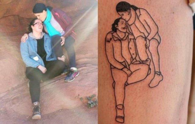 Eternal Love Tattoos (23 pics)