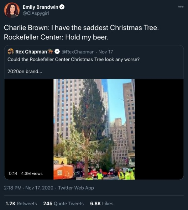 What's Wrong With The Rockefeller Center Christmas Tree 2020? (22 pics)