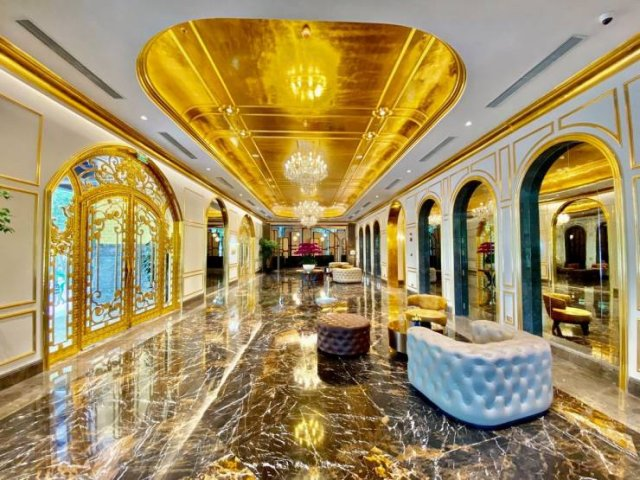 Gold-Plated Hotel In Vietnam (16 pics)