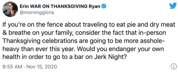 Thanksgiving 2020 Tweets (28 pics)