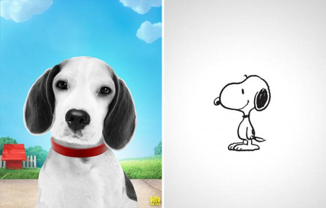 Cartoon Characters Were Reimagined As A Real Creatures (30 pics)