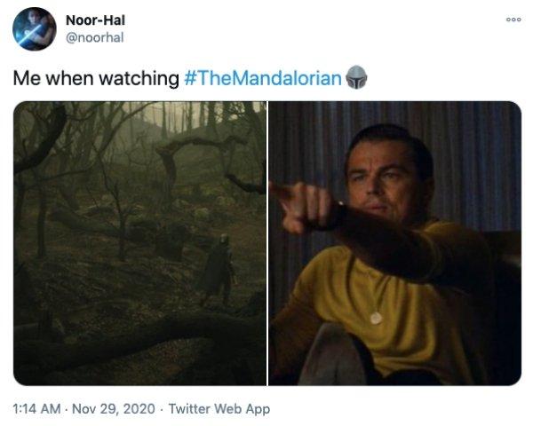 The Latest 'Mandalorian' Episode Tweets (24 pics)
