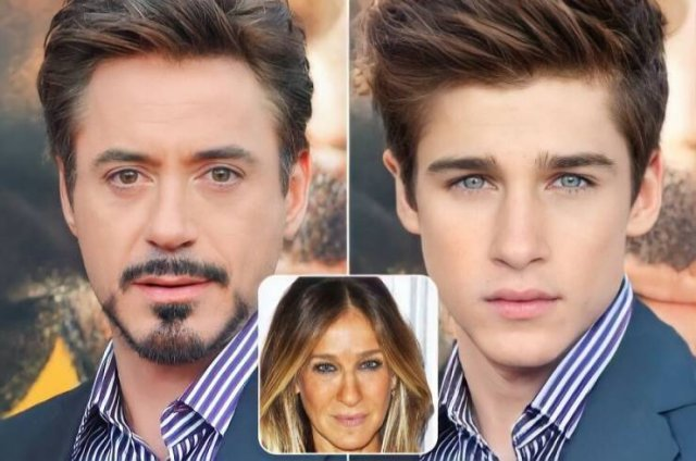What The Kids Of Famous Ex-Couples Would Have Looked If They'd Never Broken Up (20 pics)