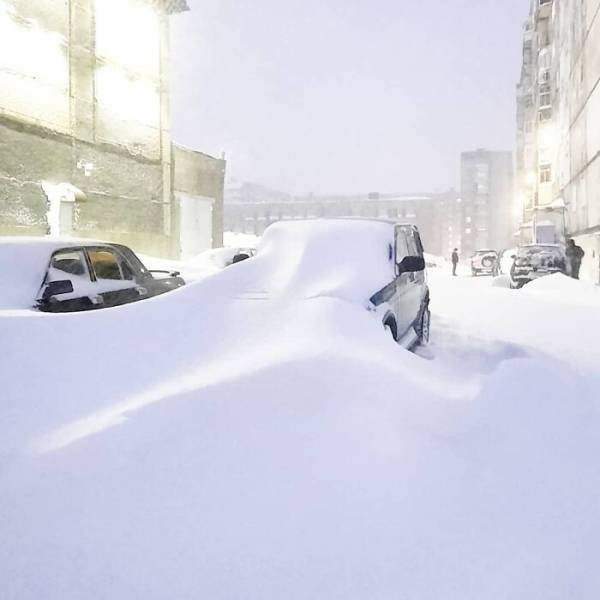 Russia's Coldest Cities Covered With Snow (29 pics)