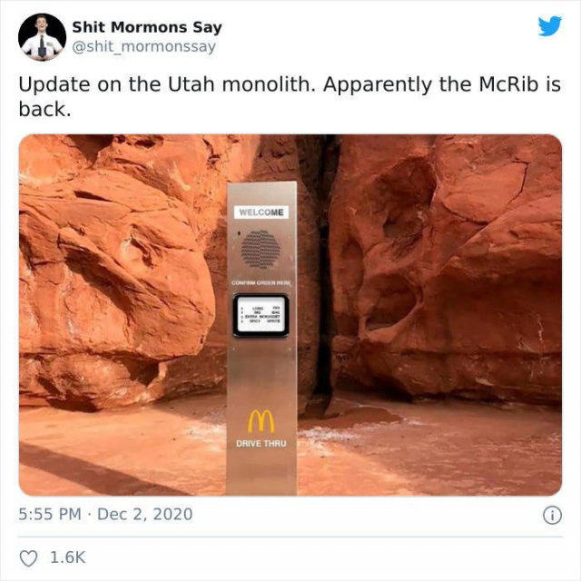 Mysterious Monolith Tweets (27 pics)
