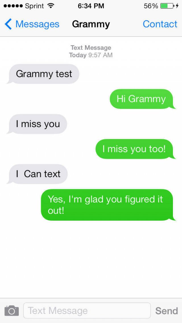 Old People And Social Media (44 pics)