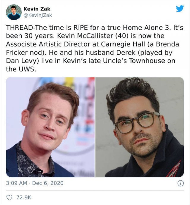 'Home Alone' Fan Fiction: 30 Years After (18 pics)