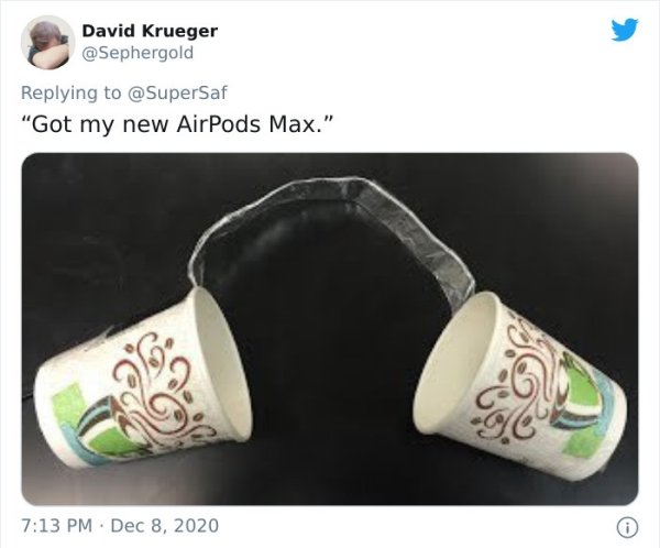 Internet Reacts To The New $549 AirPods Max (30 pics)