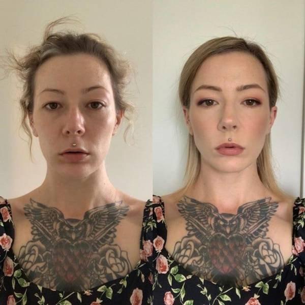 Magic Transformations By Makeup (14 pics)
