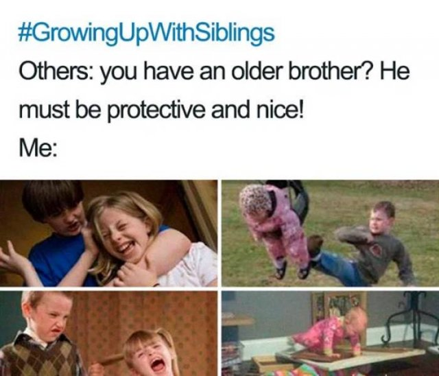 Sibling Memes (27 pics)