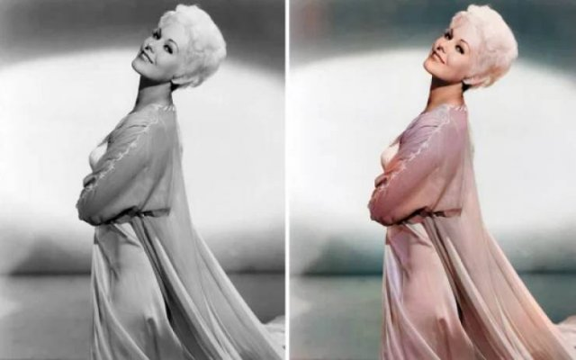 Vintage Colorized Hollywood Celebrity Photos (27 pics)