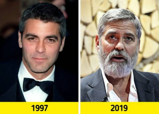 'People' Most Attractive Men: Then And Now (18 pics)