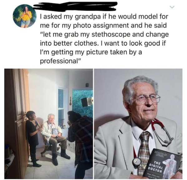 These Grandparents Are So Great (28 pics)