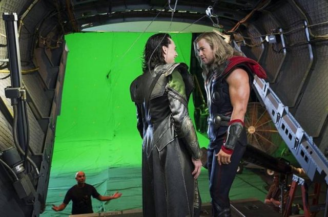 Popular Movies: Behind The Scenes Photos (20 pics)