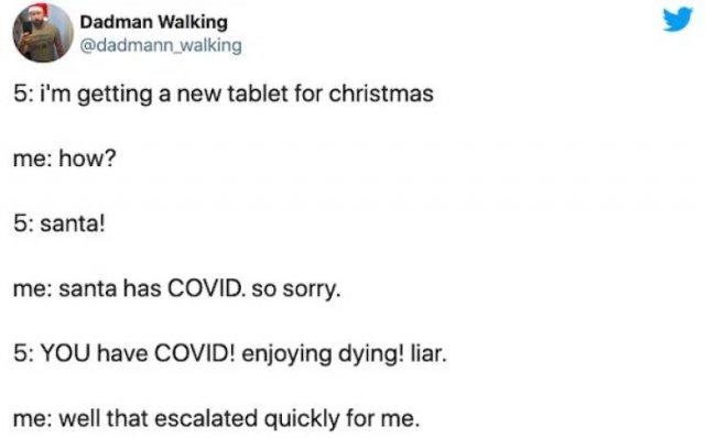 Christmas Quarantine Tweets (31 pics)