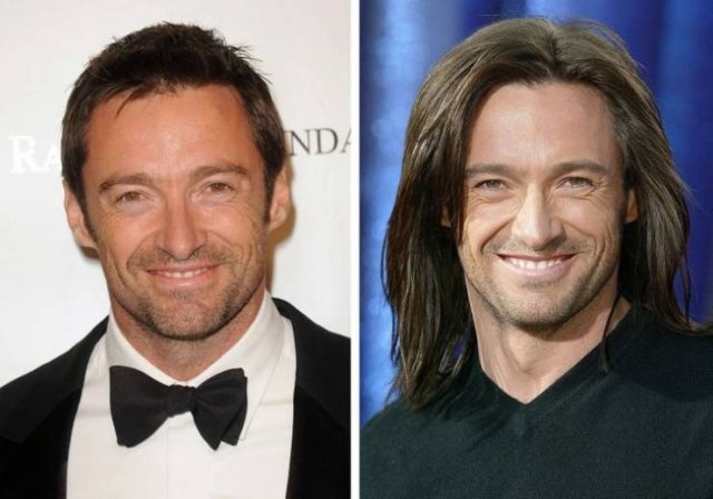 Celebrity Men With Long Hair (18 pics)