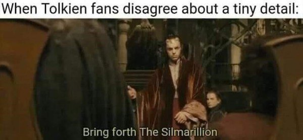 LOTR Memes (37 pics)