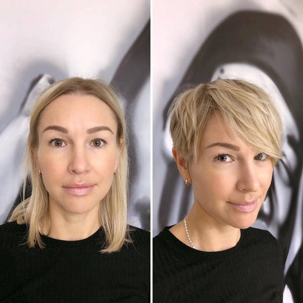 Women With Short Hair (30 pics)