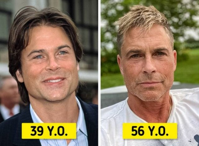 Beautifully Aging Celebrities (14 pics)