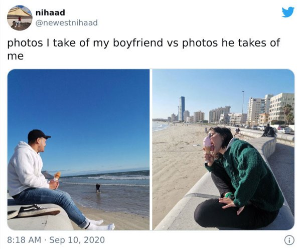 How Men And Women Take Photos (30 pics)