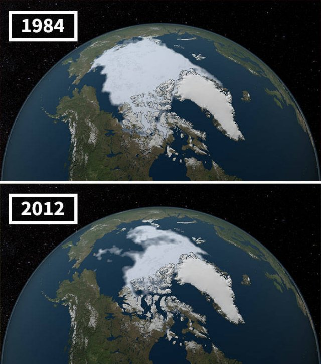 NASA: Global Climate Changes (20 pics)