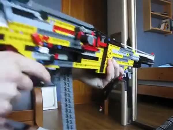 Lego Blowback Machine Gun