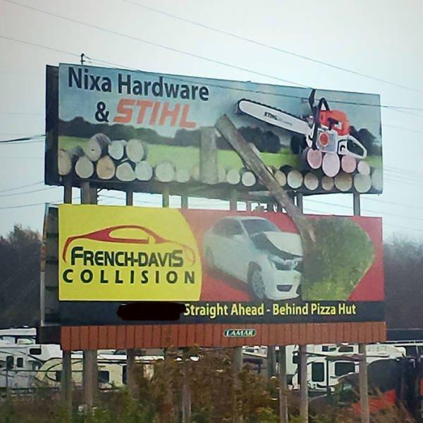 Unusual Billboard Designs (50 pics)