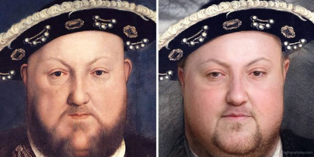 Historical Figures Paintings Turned To Realistic Images (11 pics)