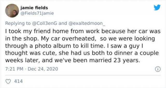 How Couples Met Tweets (44 pics)