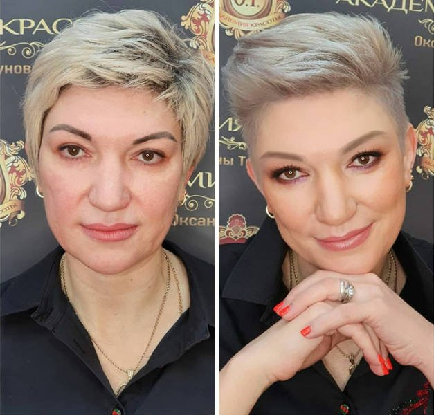 Makeup Transformations (30 pics)
