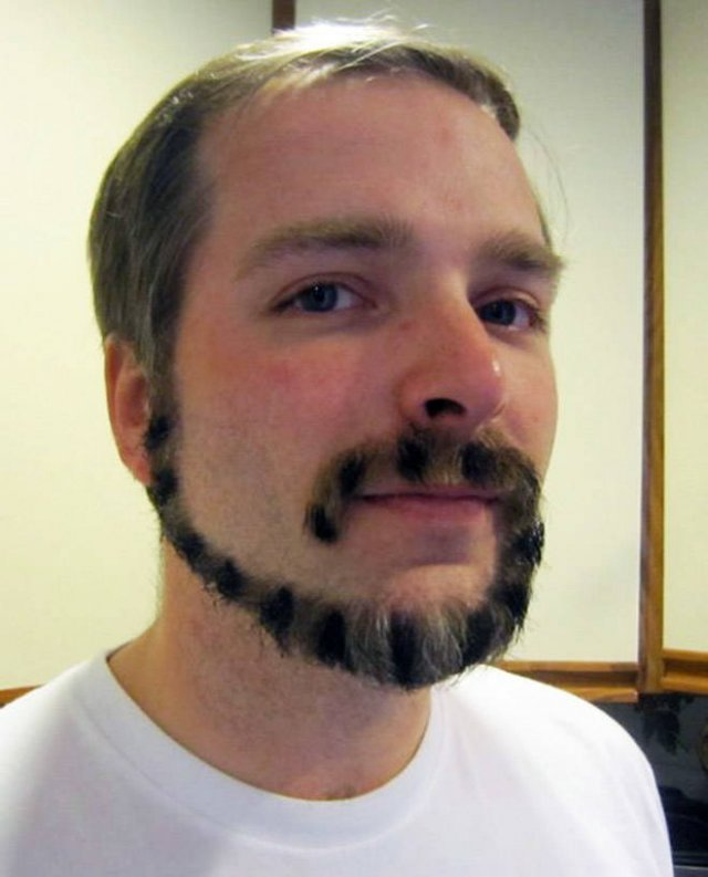 This Is Monkey Tail Beard Trend (22 pics)