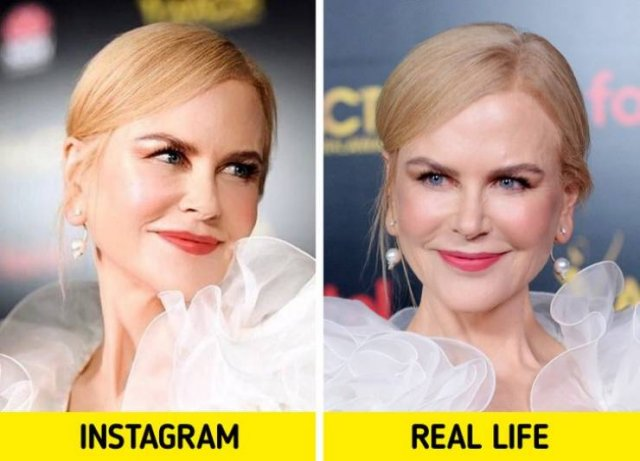 Celebs In Instagram And In Real Life (18 pics)