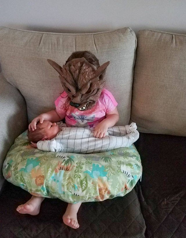Living With Children (44 pics)