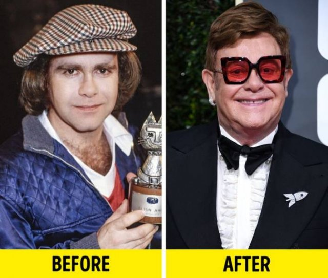 Celebrities: Then And Now (15 pics)