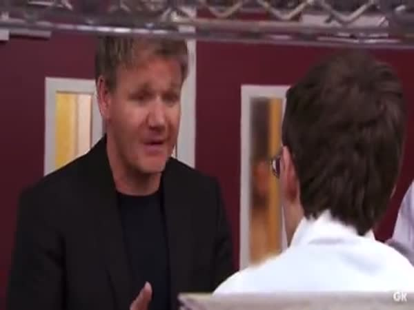 Gordon Ramsay With A Lovely Gesture To A College Student