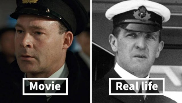 Titanic Passengers: In Movie And In Real Life (19 pics)