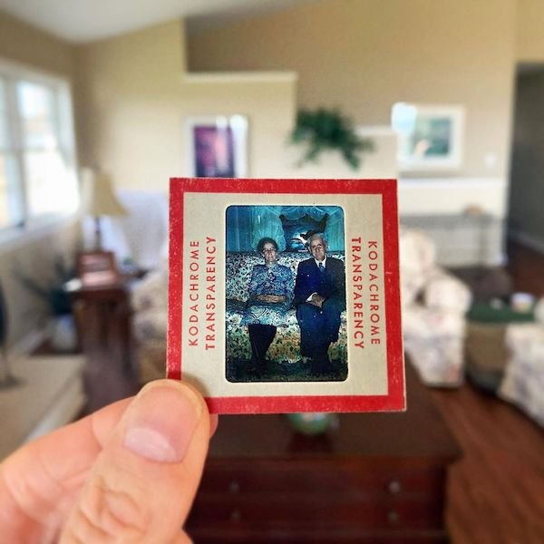 Photographer Uses Dad's Old Slides To Create New Photo Collages (32 pics)