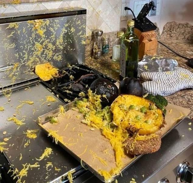 Cooking Fails (17 pics)