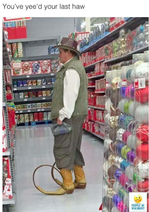 Weird Walmart Visitors (26 pics)