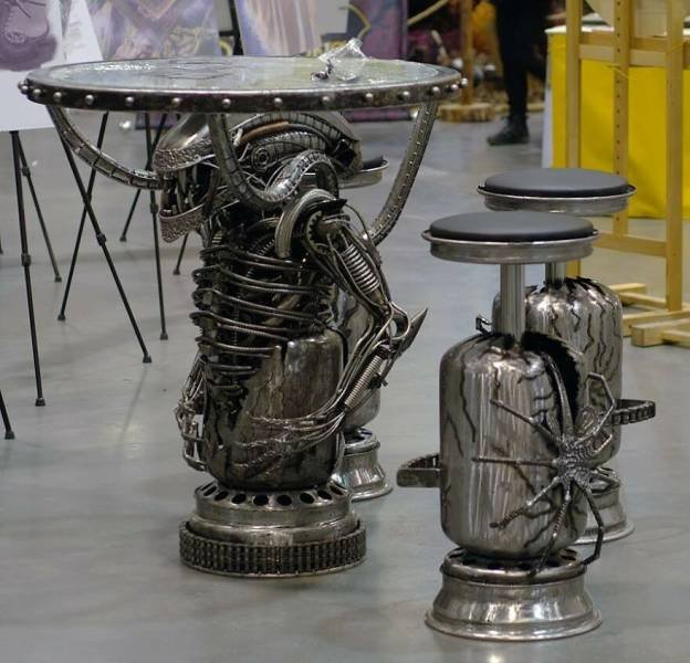 Metal Sculptures By Sebastian Kucharski (44 pics)