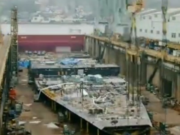 Timelapse Of A Cruise Ship Being Built