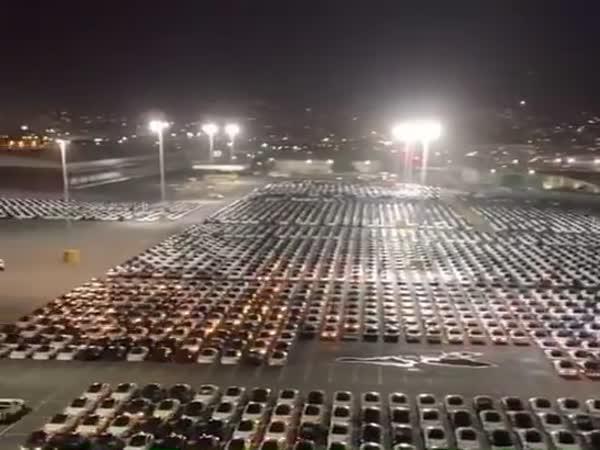 Tesla Cars Software Update Via Satellite