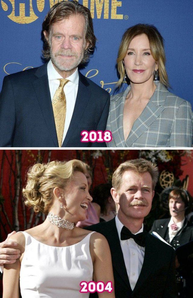 Long-Standing Celebrity Couples: Then And Now (17 pics)