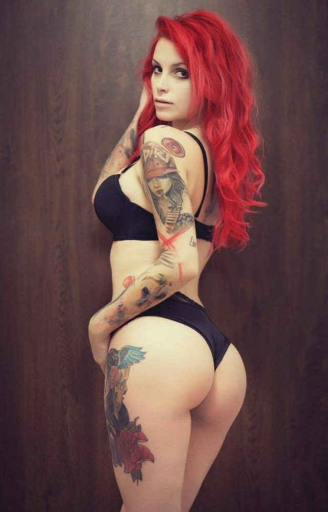 Girls With Dyed Hair (50 pics)