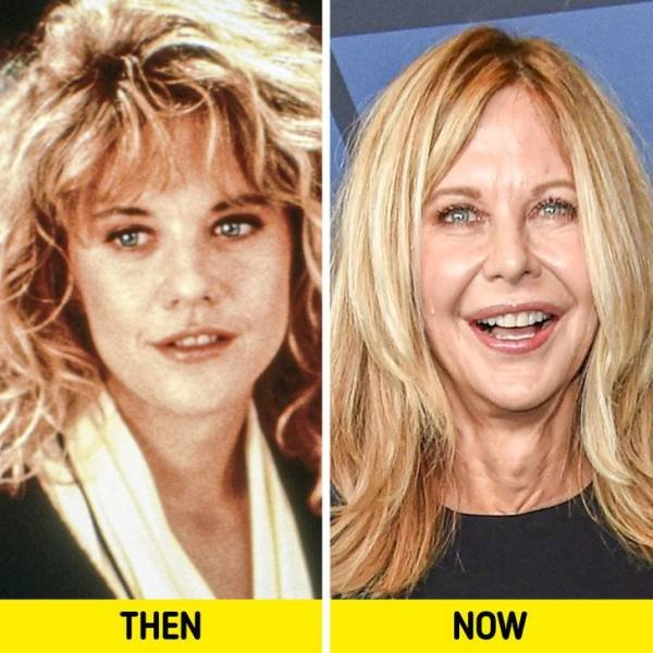 Women Celebrities Of The '80s And '90s: Then And Now (15 pics)