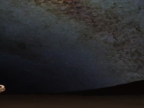 This Is What Mars Looks Like At Night