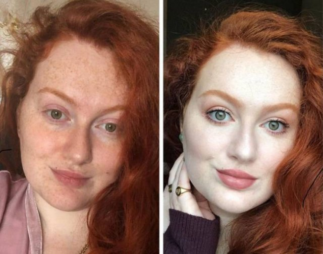 The Power Of Makeup (18 pics)