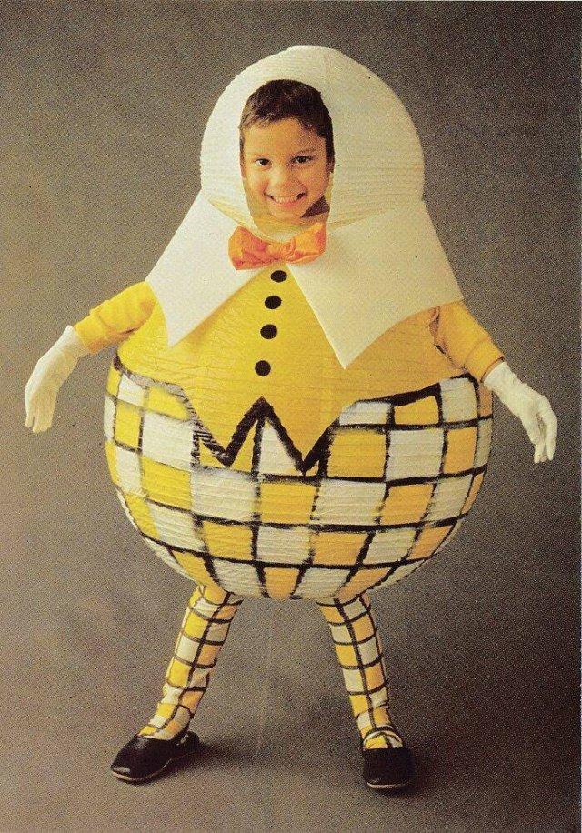 1986 Costume Book With Strange DIY Costumes (33 pics)